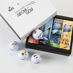 에어원)버그(BUG)골프공(12구)